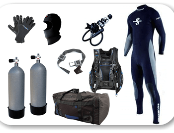 Dive Force Scuba Gear Rentals